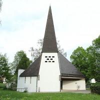 Dreieinigkeitskirche in Ebenhausen-Werk